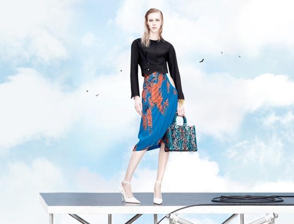 , Dior Printemps Ete 2014 par Willy Vanderperre : la Tête dans les Nuages
