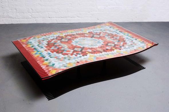 Flying Carpet Duffy London Table Basse Tapis Volant 00 - Flying Carpet par Duffy London : Table Basse Tapis Volant