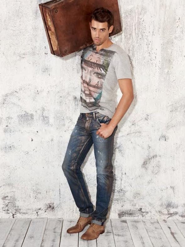 , Lookbook Guess Homme Printemps Ete 2014 : le Retour des Cowboys