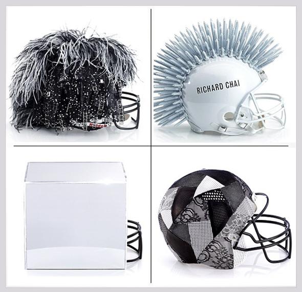 , NFL x CFDA x Bloomingdale : 48 Casques de Football Américain Haute Couture (video)