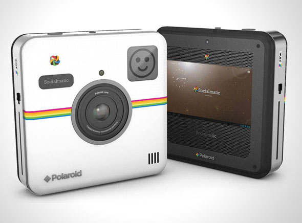 , Polaroid Socialmatic, un Appareil Photos avec Imprimante Couleur