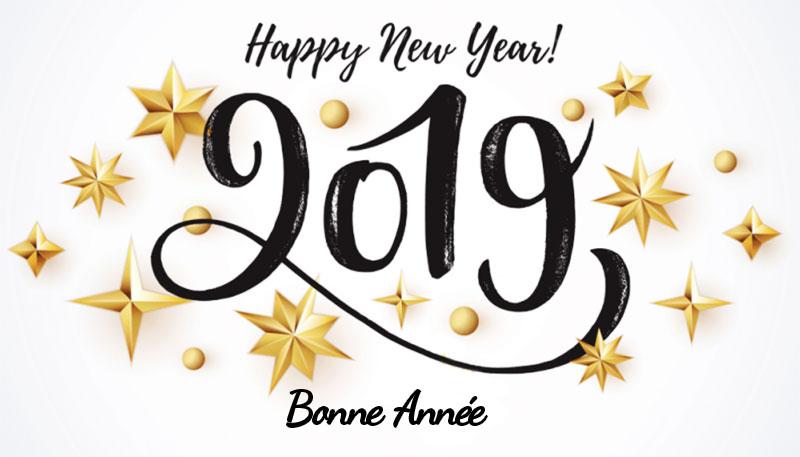 bonne anne 2019 maxitendance - Happy New Year et Bonne Année 2019 à Toutes et à Tous !