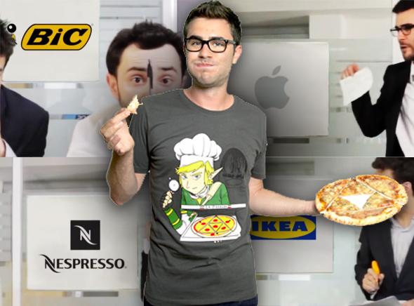 , Les Reunions chez IKEA, Nespresso ou Apple Vues par Cyprien (vidéo)