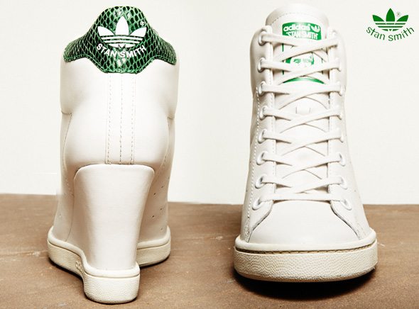 , Baskets Adidas Stan Smith UP : Edition Limitée Talons Hauts