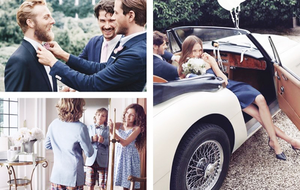 , Campagne Gant Printemps Eté 2014 : Jour de Mariage pour Sasha Pivovarova (video)