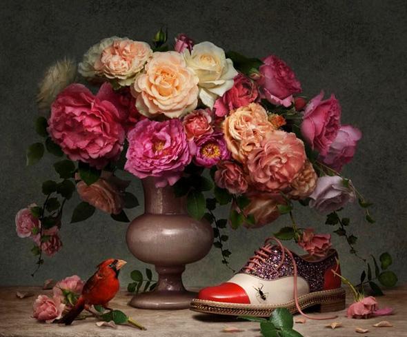 Christian-Louboutin-SS-Printemps-Ete-2014-Fleurs-Natures-mortes-peter-lippmann-2
