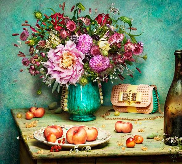 Christian-Louboutin-SS-Printemps-Ete-2014-Fleurs-Natures-mortes-peter-lippmann-5