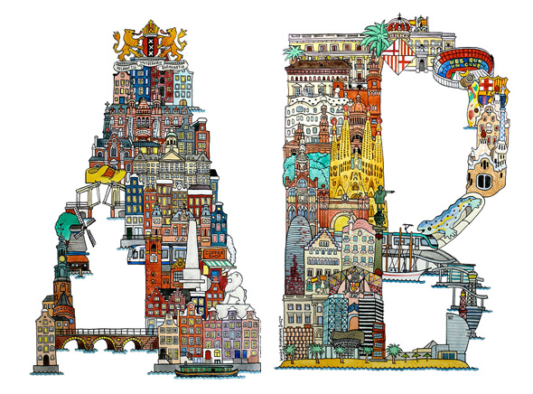 City-ABC-Hugo-Yoshikawa-Alphabet-Ville-Monde-1