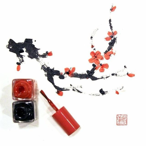 Dessins-Illustrations-Nouvel-An-Chinois-Maquillage-Red-Hong-Yi-02