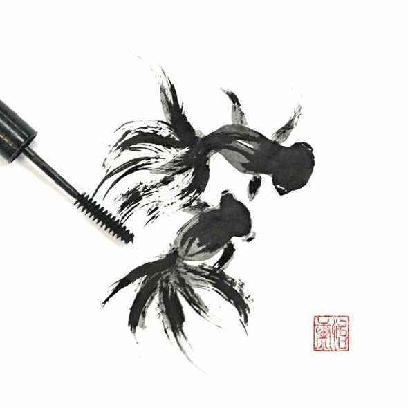 , Nouvel An Chinois par Red Hong Yi : Superbes Illustrations en Maquillage