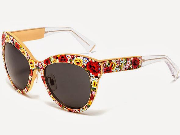 lunettes de soleil fleurs. Black Bedroom Furniture Sets. Home Design Ideas