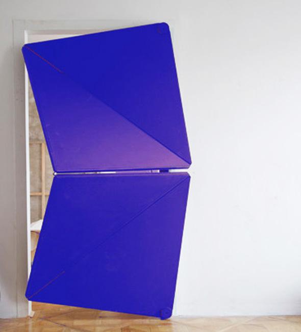 , Evolution Door par Klemens Torggler : Etonnante Porte Origami (video)