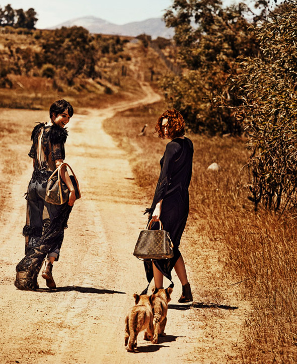, Louis Vuitton Spirit of Travel Printemps Ete 2014 : Campagne Safari en Afrique du Sud