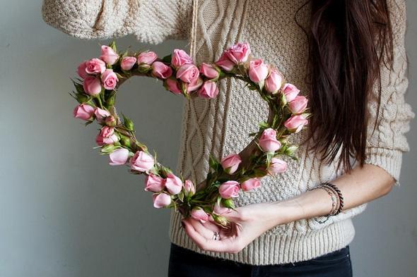 coeur fleuri (tutoriel gratuit - DIY) - tutolibre