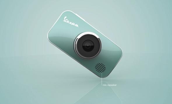 , Concept Vespa Cam par Rotimi Solola : Appareil Photo Rétro et Acidulé