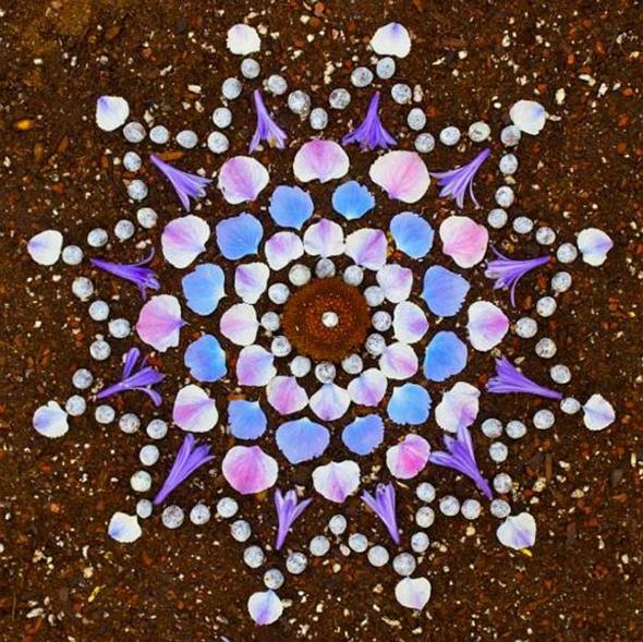 , Mandalas par Kathy Klein : Tourbillon de Fleurs et de Couleurs