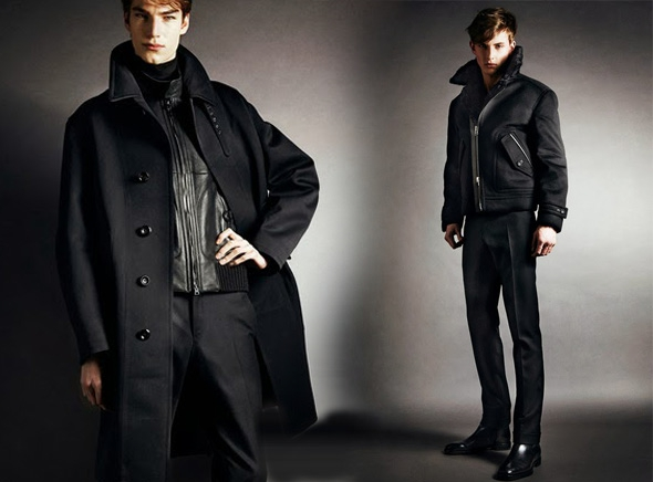tom ford homme fw automne hiver 2014 2015 00 - Lookbook Tom Ford Homme Automne Hiver 2014 2015 : Retour du Noir et Blanc