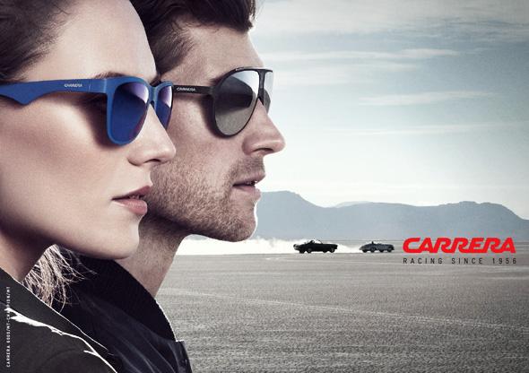 Campagne Carrera Ete 2014   Lunettes de Soleil et Course Automobile ... e2eb85e09112