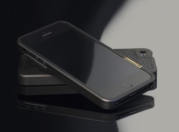 , Gresso Titanium : Luxueux Bumper en Titane pour iPhone 5S (video)
