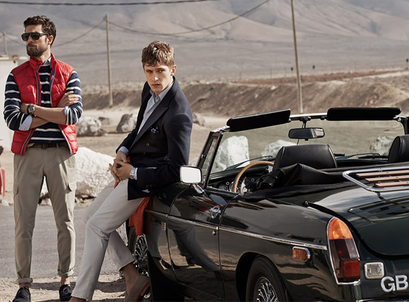 , HE by Mango Printemps Ete 2014 : Hipster Chic en Campagne