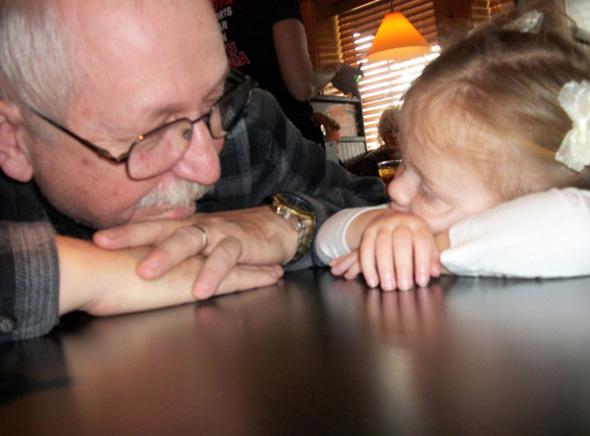 père et fille sur apln-blog