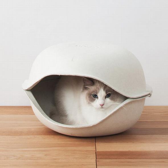 niche pour chat en carton best niche pour chat rversible mia de mykotty with niche pour chat en. Black Bedroom Furniture Sets. Home Design Ideas