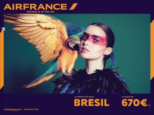 , France is in the Air par Air France : Nouvelle Campagne des plus Retro