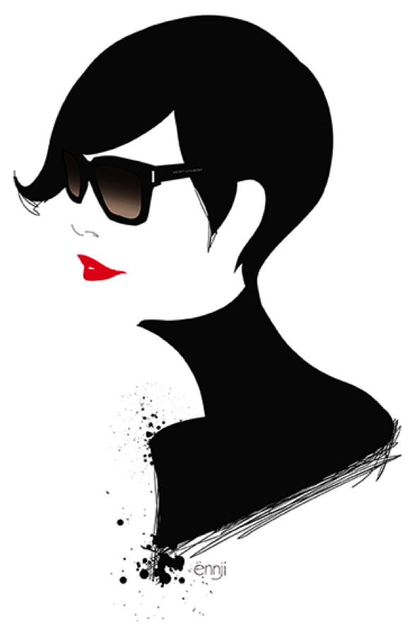 illustrations-mode-ennji-dessin-silhouette-feminines-rouge-noir-07