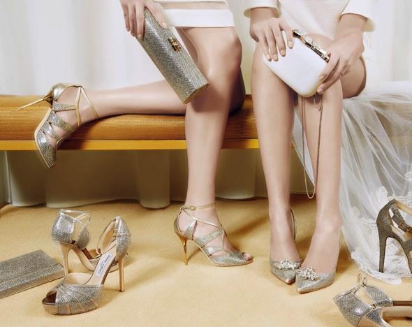 , Jimmy Choo Collection de Chaussures de Mariée 2014 (video)
