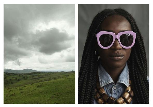, Lunettes Karen Walker Visible Eté 2014 : Campagne Authentique au Kenya