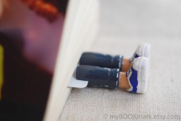 , MyBookmark : Amusants Marque-Pages Mode aux Longs Pieds