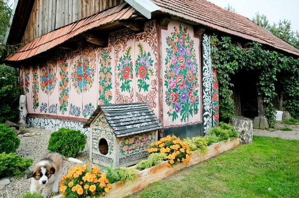 , Zalipie, Le plus Folklorique mais Authentique des Villages de Pologne