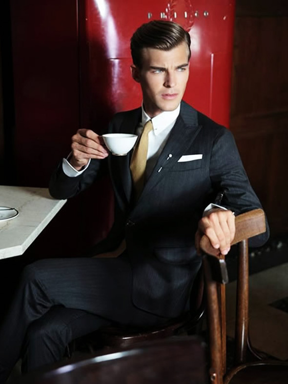 Dsquared2 SS Men Homme Ete 2014 1 Dsquared2 Homme Printemps Ete 2014 : Les Mad Men sont de Retour !