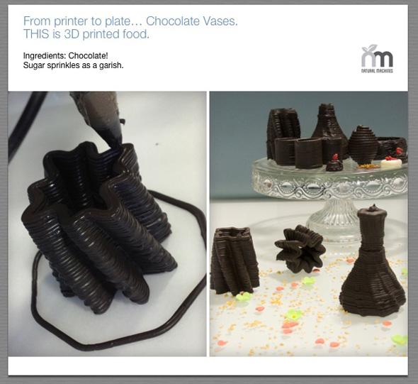 , Imprimante 3D «Foodini» pour Fabriquer Plats, Pizzas et Petits Gâteaux (video)