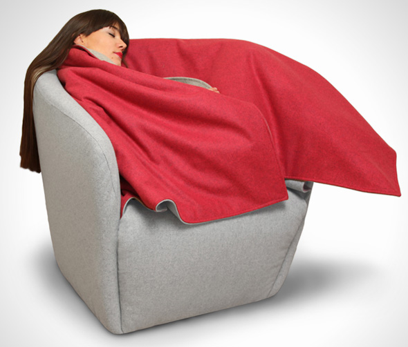 , Red Riding Hood : Fauteuil Chaperon Rouge pour se Lover !