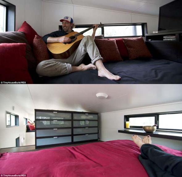 , Tiny House, un Couple Construit la Plus Petite et Spacieuse Maison pour Etre Libre
