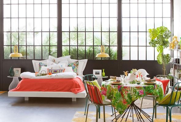 Zara Home Maison Ete 2014 Deco Tropiques 1 - Zara Home, la Maison se Met au Vert et Part sous les Tropiques