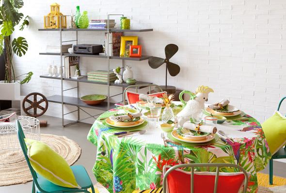 , Zara Home, la Maison se Met au Vert et Part sous les Tropiques