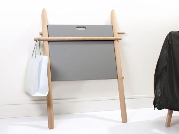 Bureau pliant bois charmant meuble bureau secretaire pliant bois