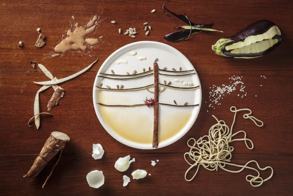, Des Oiseaux plus Vrais que Nature Réalisés en Fruits et Légumes par une Food Artiste !