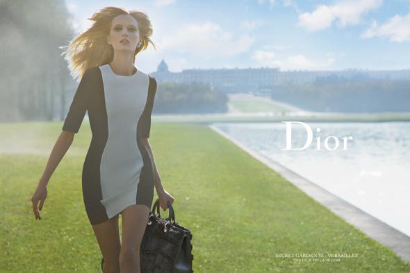 , Dior Jardin Secret 3 de Nouveau à Versailles pour l'Ete 2014 (video)
