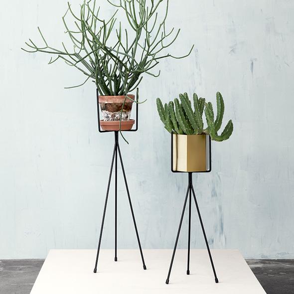 , Installer vos Plantes sur un Piédestal avec Ferm Living