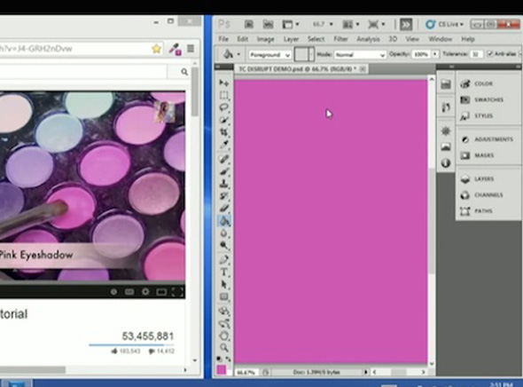Mink Grace Choi Imprimante 3D Maquillage 4 - Avec Mink, vous Pourrez Bientot Imprimer en 3D vos Cosmetiques (video)