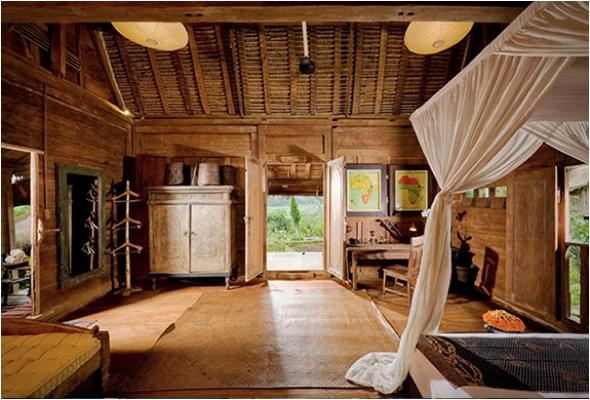 , Bambu Indah, Un Authentique Hotel en Plein Coeur d'une Végétation Luxuriante à Bali