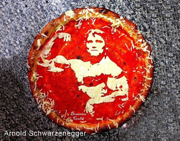 domenico crolla pizza portrait celebrite 4 - Pizza Art par Domenico Crolla, Portraits de Célébrités à Savourer !