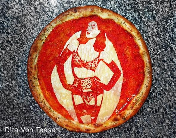 domenico crolla pizza portrait celebrite 5 - Pizza Art par Domenico Crolla, Portraits de Célébrités à Savourer !