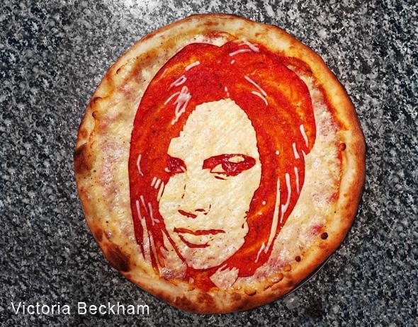 , Pizza Art par Domenico Crolla, Portraits de Célébrités à Savourer !