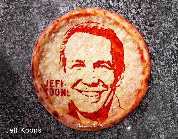 domenico crolla pizza portrait celebrite 8 - Pizza Art par Domenico Crolla, Portraits de Célébrités à Savourer !