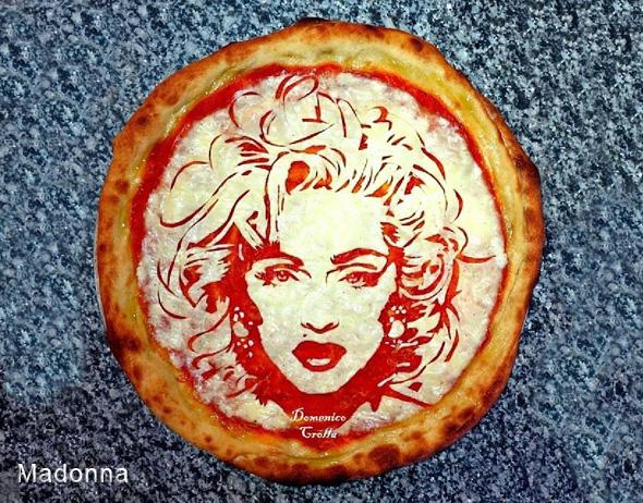 domenico crolla pizza portrait celebrite 9 - Pizza Art par Domenico Crolla, Portraits de Célébrités à Savourer !
