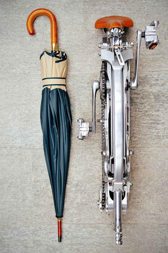 , Sada Bike, Un Vrai Velo Pliable aussi Compact qu'un Parapluie (vidéo)